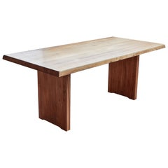 1960s Pierre Chapo Model T14D Dining Table
