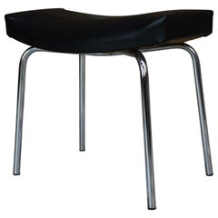 "French Design of the 1950s by Pierre Guariche ""Taureau"" Stool for Meurop"