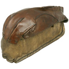 Rare Antique Racket Glove, Tennis Related Museum Piece