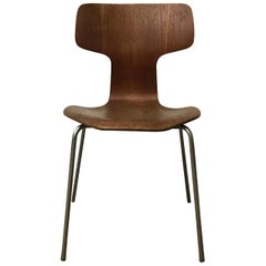 1955, Arne Jacobsen for Fritz Hansen, Original, Rare, Chair 3103 with Grey Base