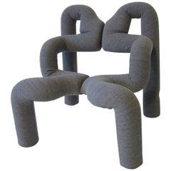 Ekstrem Sculptural Chair by Terje Ekstrom Made in Norway