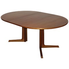 Scandinavian Teak Dining Table by Niels Otto Moller for Gudme Møbelfabrik, 1960s