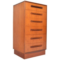 G Plan Fresco Teak Lingerie Dresser Highboy #3