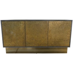 Bridges over Time Originals Credenza in Iron and Brass Finish