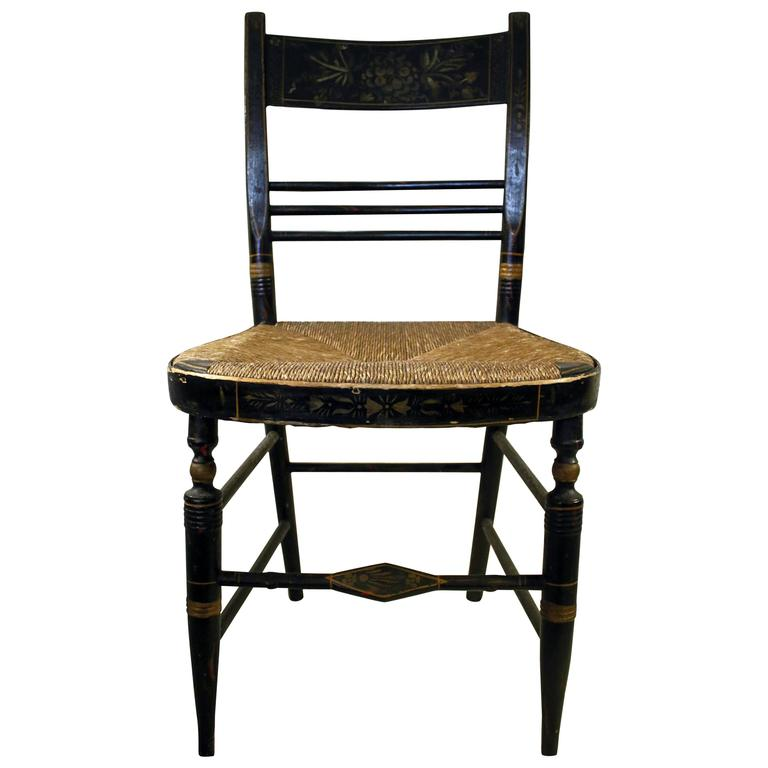 19th Century Hitchcock Painted Chair