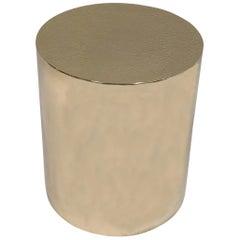 Polnischer Messing Drum-Tisch von Brueton