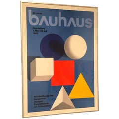 Framed Vintage Bauhaus 50th Anniversary by Herbert Bayer
