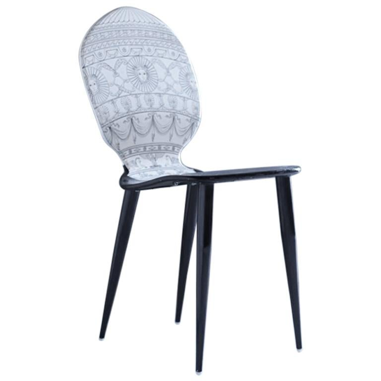 "Piero Fornasetti ""Mongolfiera"" Chair For Sale"