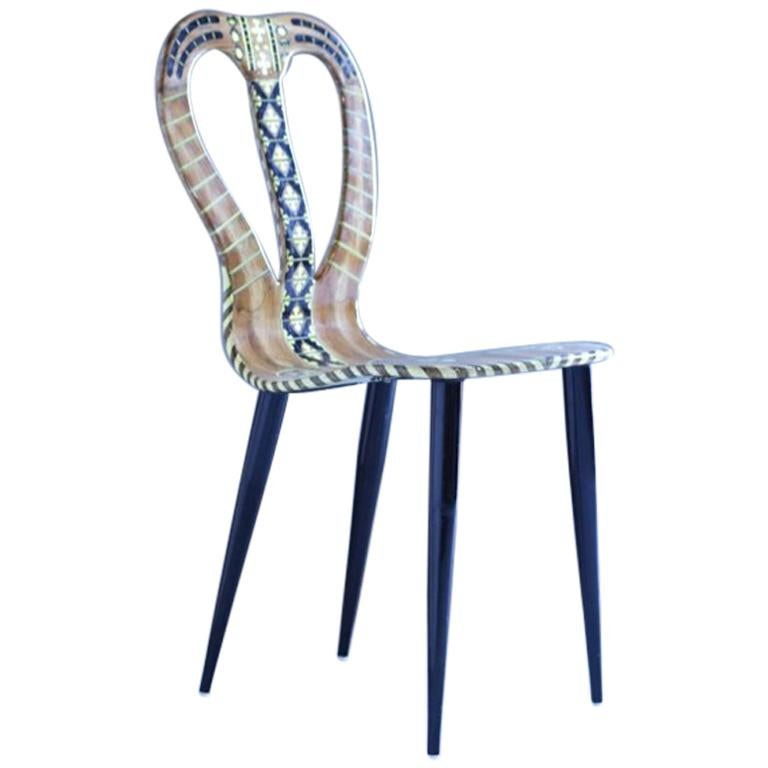 """Fornasetti Chair """"Musicale"""""""