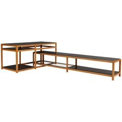 Dunbar Architectural Nesting Console Tables, Edward Wormley