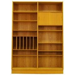 Poul Hundevad Ash Bookcase Original Vintage