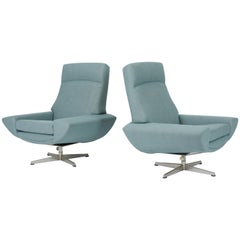 Capri Swivel Chairs by Johannes Andersen for Trensum, 1958