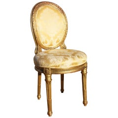 19th Century French Neoclassical Upholstered Chair