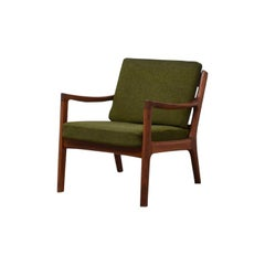 Senator Armchair by Ole Wanscher for France & Son, Denmark, 1960s, Teak, Wool