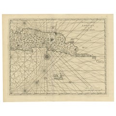 Antique Map of Ambon and Surroundings by Valentijn '1726'