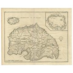 Antique Map of Boero by Valentijn, 1726