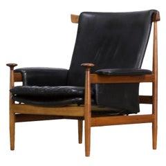 1960s Finn Juhl 'Bwana Model 152' Lounge Chair for France & Son
