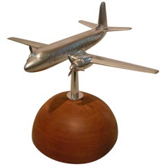 1960s Airplane Model - Aviation Desk Piece