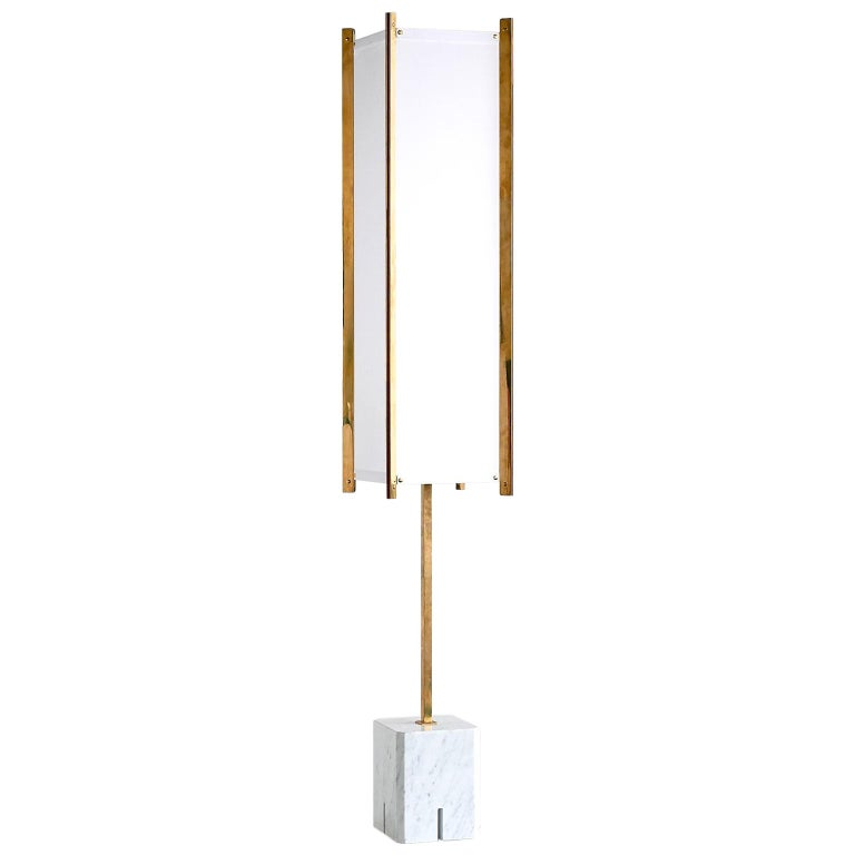 Ignazio Gardella LTE12 Prisma Floor Lamp, Azucena, 1960s For Sale