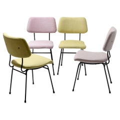Set of Six Arflex Dining Chairs, Italian, circa 1960