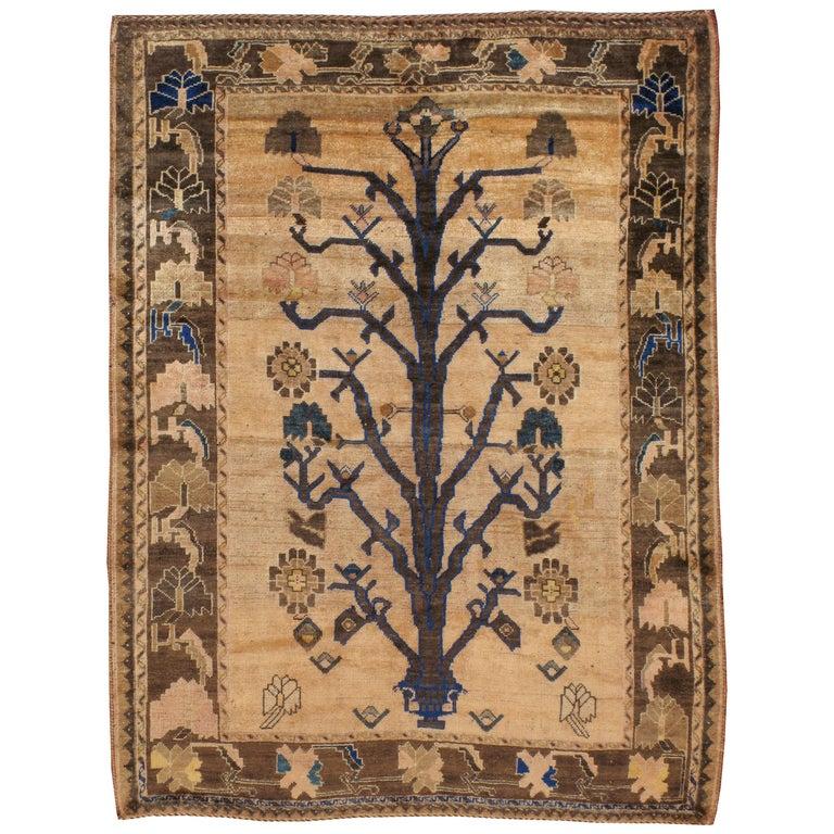 Vintage Persian Afshar Rug For Sale
