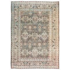 Antique Persian Dorokhsh Carpet
