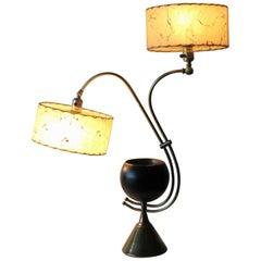 Atomic Age Adjustable Mid-Century Modern Majestic Lamp 1950s