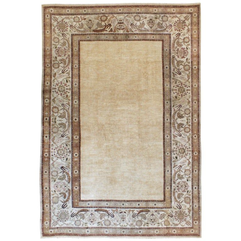 Antique Indian Agra Carpet For Sale