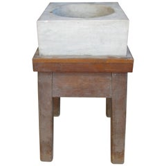 Antique 19th Century Marble Mortar from a Newport RI Estate