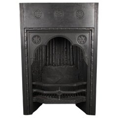Rare Tudor, Neo Gothic Register Grate, English Mid-19th Century