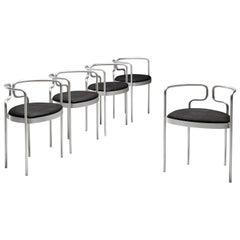 Henning Larsen Tubular Dining Chairs