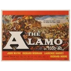 """The Alamo"" Original British Film Poster"