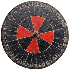 Roulette Wheel, circa 1900