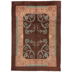 Antique European Carpet, Louis XV Style