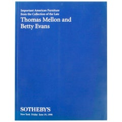 Sotheby's Important American Furniture from Thomas Mellon and Betty Evans