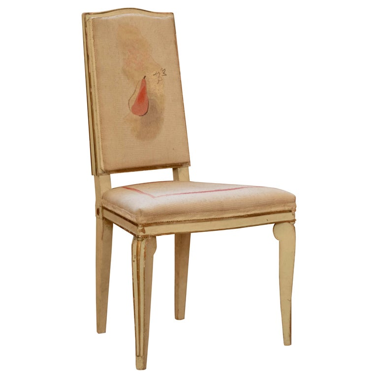 André Arbus Chair, circa 1940s For Sale