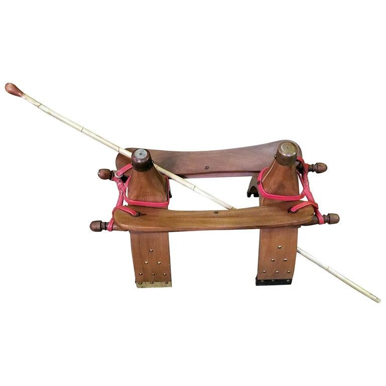 Saudi Arabian Camel Saddle With Camel Whip For Sale At 1stdibs