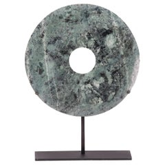 Pale Green Jade Bi Disc