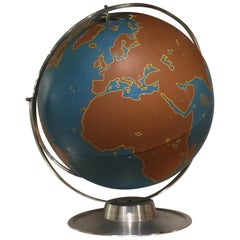 Vintage World Globe by AJ Nystrom