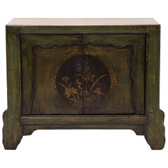 Mongolian Lotus Shadow Chest