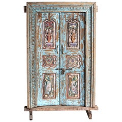 Impressive Set of Indian Doors with Surround