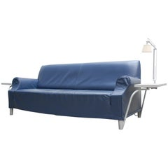 Cassina Lazy Working Sofa Design Philippe Starck with Flos Archimoon Lamp