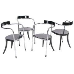 """Set von sechs """"Fauno"""" Stühle von David Palterer Zanotta, Italien, 1987"""