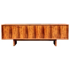 Rosewood Sideboard or Buffet Gordon Russell Martin Hall Marlow Range, 1970