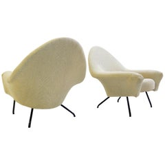 Pair of Armchairs Model 770 by Joseph-André Motte, 1958
