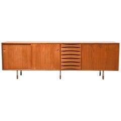 Sideboard by Arne Vodder for Sibast Denmark 1960 teak rare production