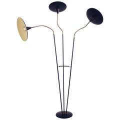 Stunning Italian 1950 Adjustable Floor Lamp