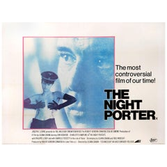 """The Night Porter"" Original British Film Poster"