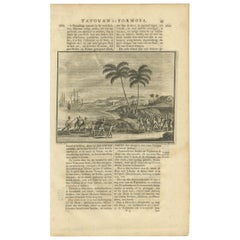 Antique Print of Chinese Natives by Valentijn, 1726