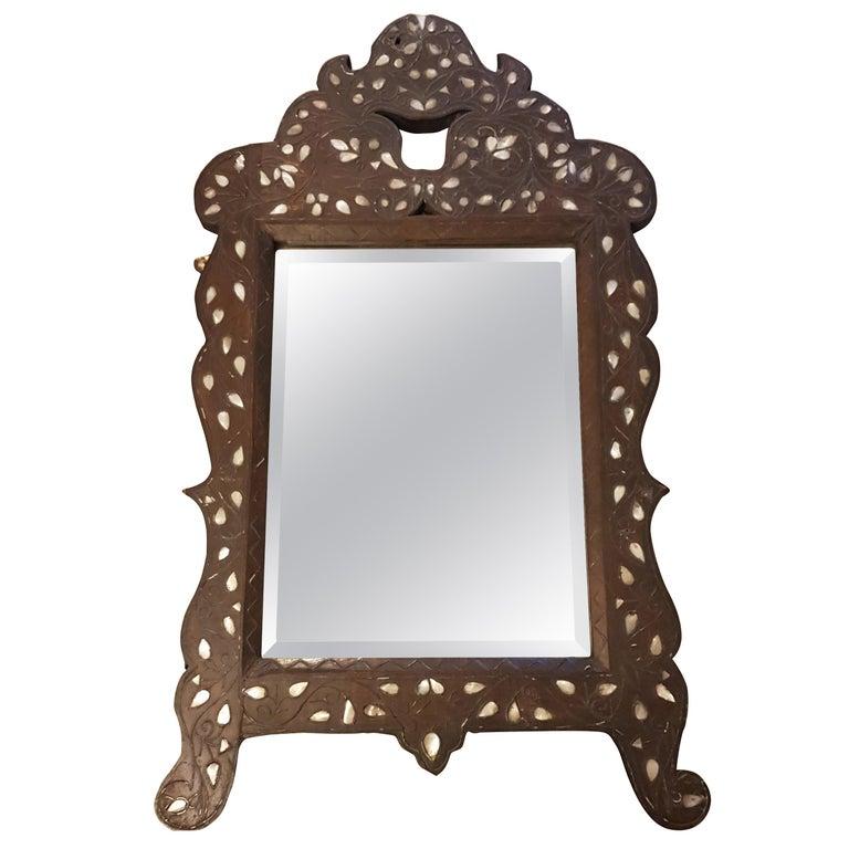 Early 20th Century Liberty's Syrian Moorish Wall Mirror For Sale